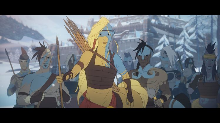 screenshot di The Banner Saga 2