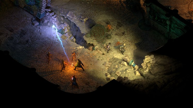 Dungeon in Pillars of Eternity 2