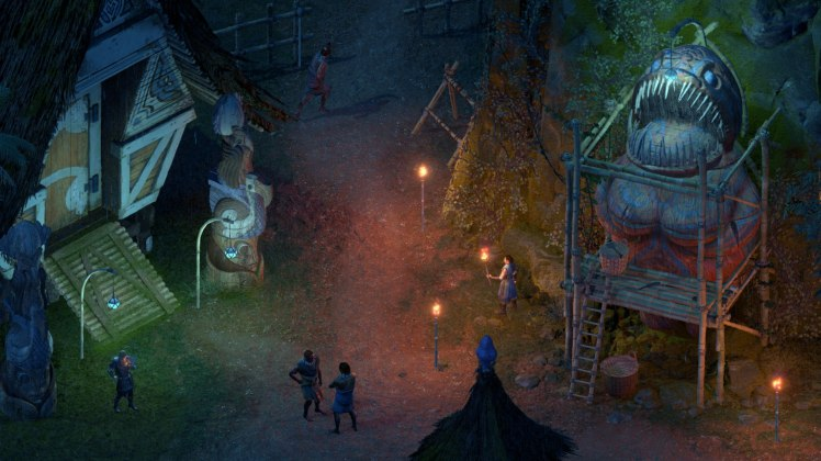 Villaggio Huana in Pillars of Eternity II: Deadfire