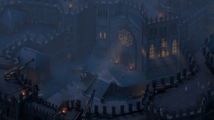 la fortezza di Raedric in Pillars of Eternity