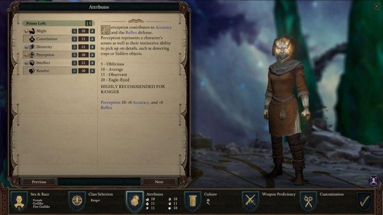 statistiche e abilità del personaggio in PoE2