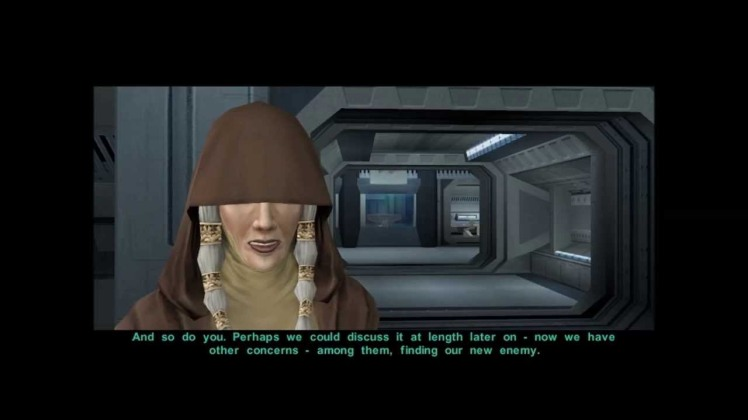 dialogo con Kreia in Knights of the Old Republic 2