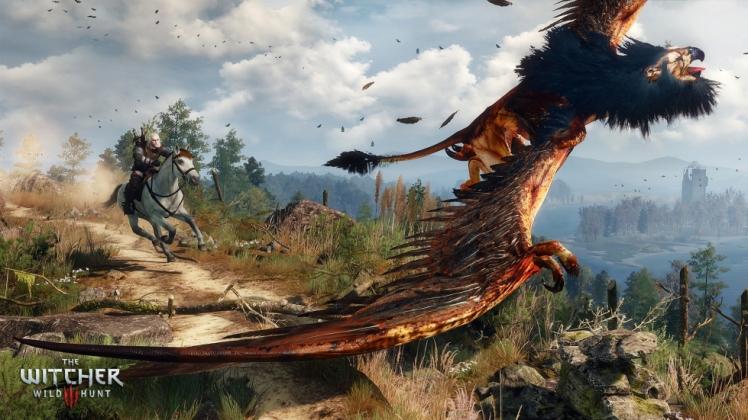 Geralt vs grifone