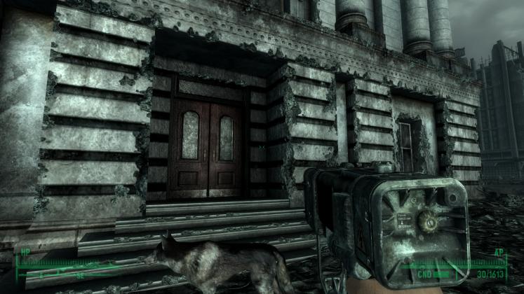 Diamo un'occhiata all'hud di gioco in Fallout 3