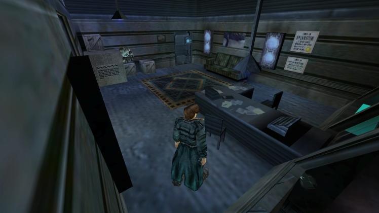 L'ufficio del protagonista in Anachronox