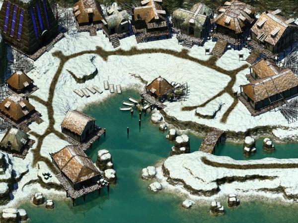Easthaven, una delle Dieci Cittadine di Icewind Dale