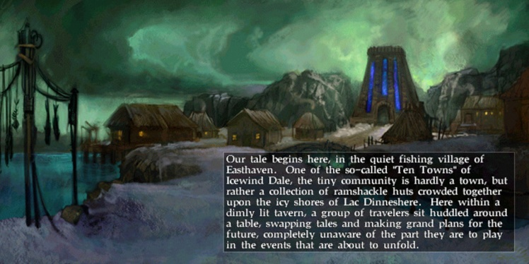 Prologo per Icewind Dale