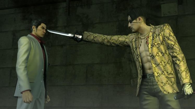 Kiryu vs Majima, Yakuza Kiwami