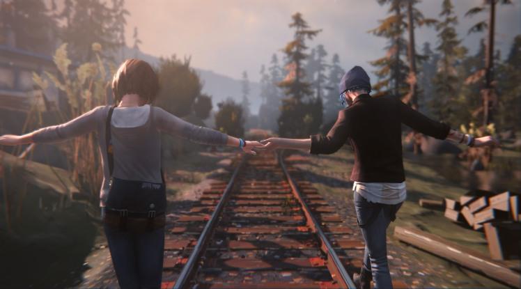 Chloe e Max in Life is Strange
