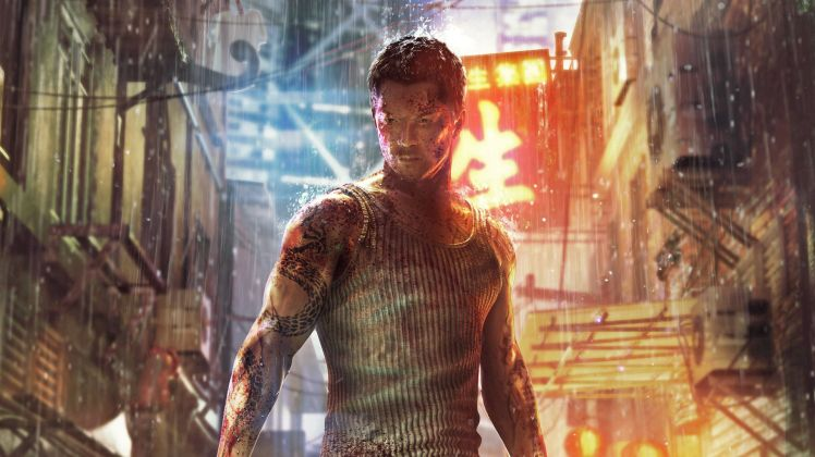 Il protagonista Wei Shen, in Sleeping Dogs