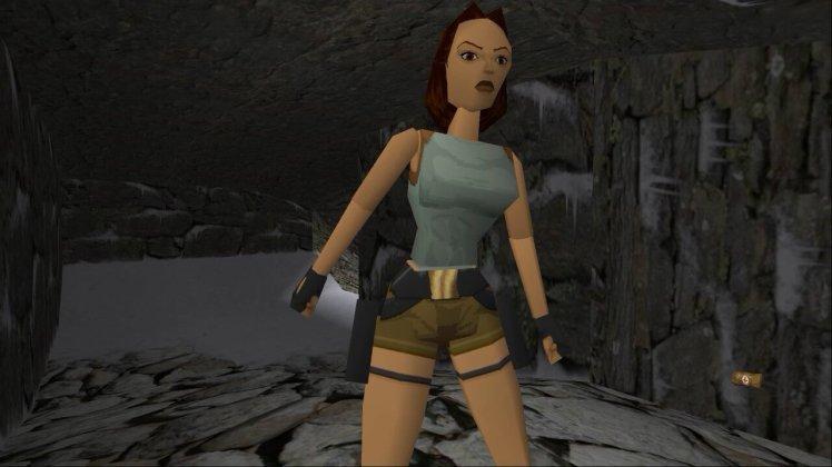 Lara Croft nel primo Tomb Raider