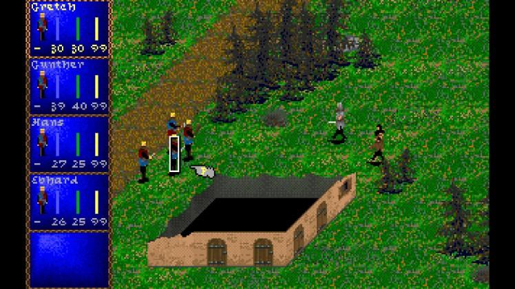 un combattimento in Darklands