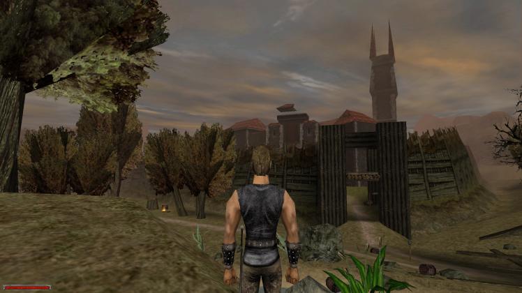 Campo Vecchio visto da lontano