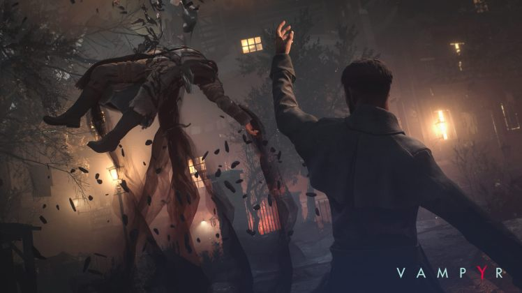 Reid massacra un nemico in Vampyr