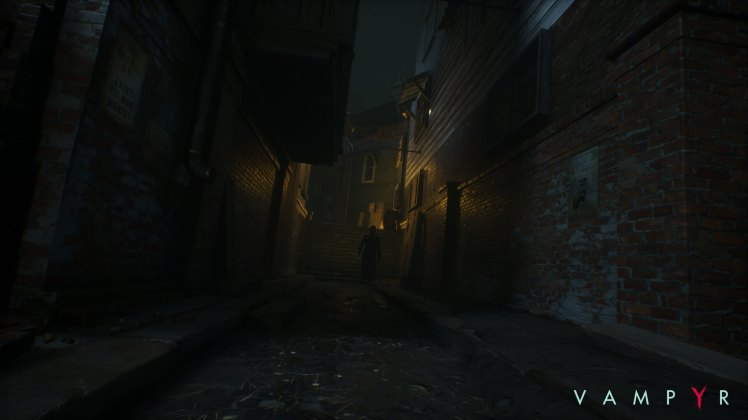 vicoli di Londra in Vampyr