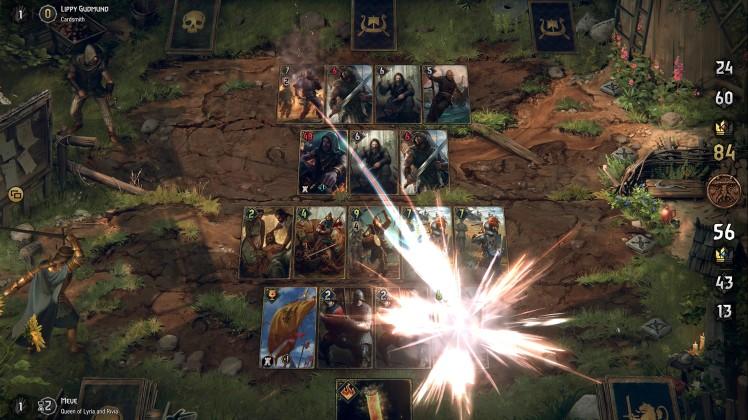 battaglia in Thronebreaker: The Witcher Tales
