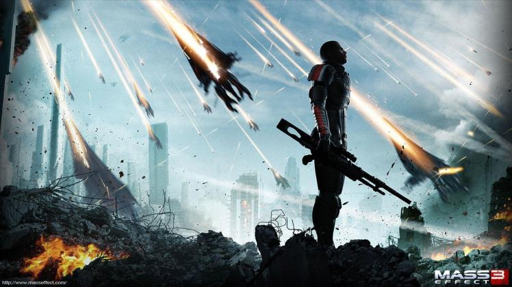 wallpaper di Mass Effect 3